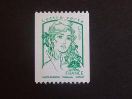 N°5017 - Marianne De Ciappa Et Kawena - Lettre Verte - LUXE** - Gomme D'origine - Issu De Roulette Avec N° Noir - Nuevos