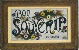 Bon Souvenir De COUVIN - Cachet De La Poste 1913 - Couvin