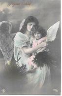 Angel, Ange, Engel, Angelo, Woman, Frau, Child With Angel Wings, Bambino Con Ali D'angelo, Enfant, Kind / Photocard - Altri