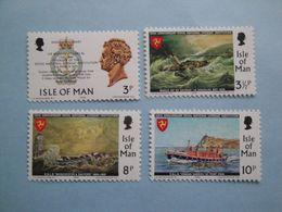 Bateaux 1974 Man Yv 25/8 ** MNH Michel 36/9 Scott 36/39 SG 42/5  Ships Sea Rescue - Man (Ile De)