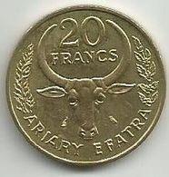 Madagascar 20 Francs 1970. - Madagaskar