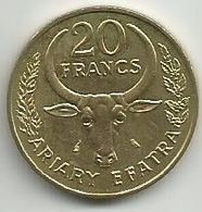 Madagascar 20 Francs 1970. - Madagascar