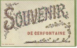 SOUVENIR DE CERFONTAINE Cachet De La Poste 1908 - Cerfontaine