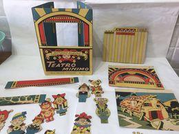 ANTONIO RUBINO TEATRO MINIMO CASA EDITRICE SONZOGNO MILANO 1937 RARO. - Jouets Anciens