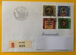 10212 - Bundesfeier Rütli 1.08.1983 Recommandé Pro Patria 198-201 - Lettres & Documents