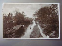 Royaume Uni - United Kingdom - Angleterre - England - WOKING - The Canal - Surrey