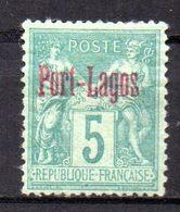 Col17  Colonie Port Lagos N° 1 Neuf X MH Cote 35,00€ - Port Lagos (1893-1931)