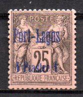Col17  Colonie Port Lagos N° 4 Neuf X MH Cote 90,00€ - Unused Stamps