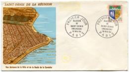 FDC 1er Jour - YT 1354A Blason De Saint-Denis De La Réunion 16 Mai 1964 - 1960-1969