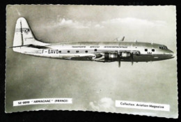"Avion SE-2010 ""ARMAGNAC"" (FRANCE) T.A.I. Transports Aériens Intercontinentaux  - Collection AVIATION MAGAZINE - 1946-....: Ere Moderne"