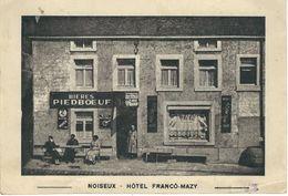 NOISEUX : Hôtel Franco-Mazy - RARE CPA - Cachet De La Poste 1940 - Somme-Leuze