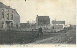 Souvenir De SIVRY (RANCE) : Lieu Dit L'Etablissement - Cachet De La Poste 1909 - Sivry-Rance