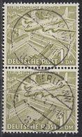 BERLIN 57a/57a Senkr, Gestempelt, Berliner Bauten 1949 - Berlin (West)