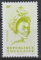 Togo 2002 - Mi. 3241 Série Courante BELLA BELLOW 20 F MNH** - Togo (1960-...)