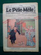 1908 Revue LE PÊLE MÊLE N° 33  - Benjamin RABIER - LA TRAGÉDIE DE LANDERNAU - Newspapers