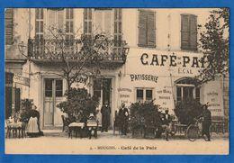 CPA 06 MOUGINS - Café De La Paix - Mougins