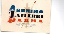 PARMA   ,   Anonima  Zafferri - Parma