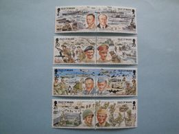 Bateaux 1994 Man Yv 629/34 ** MNH Michel 593/00  Scott 606/12a  SG  606/13   Ships War II D Day - Isola Di Man