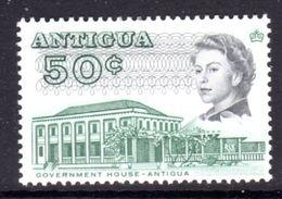 ANTIGUA - 1969 DEFINITIVE 50c STAMP PERF 13.5 GLAZED PAPER MNH ** SG 191a - 1960-1981 Autonomie Interne