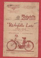 Livret Entretien Graissage Mobylette Motoconfort - Other