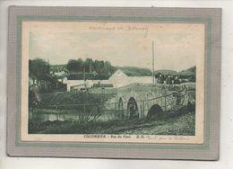 CPA - Environs De DARNEY(88) COLOMBIER - Aspect Du Pont Sur La Saône à L'entrée Du Bourg Par La Rue Du Pont En 1930 - France