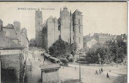 12, Aveyron, RODEZ, Place D'Armes, Scan Recto Verso - Rodez