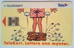 5 Units N-26 Complimentary Card - Norvège
