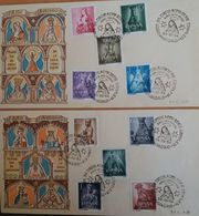Madonna  - Spanje Mi.1028-37 - Religie - Kunst - FDC