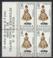 España 1971, Traje Valencia Bk4 + Etiq Ed=2014 (**) - 1931-Oggi: 2. Rep. - ... Juan Carlos I