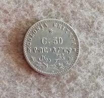 Colonia Eritrea 50 Cent. Umberto I 1890 - Colonies