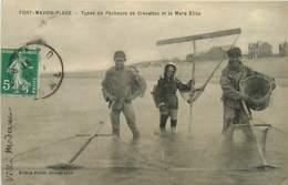 80* FORT MAHON PLAGE  Pecheurs Crevettes      MA107,0104 - Fort Mahon