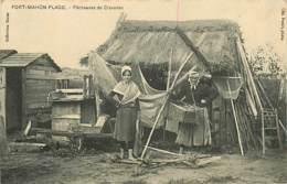 80* FORT MAHON ¨PLAGE  Pecheuses De Crevettes       MA107,0124 - Fort Mahon