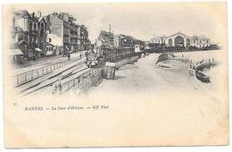 NANTES : LA GARE D'ORLEANS - Nantes