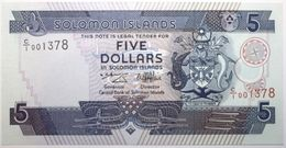 Salomon - 5 Dollars - 1997 - PICK 19a - NEUF - Isla Salomon