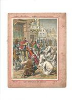 LES BOURGEOIS DE CALAIS Protège-cahier Couverture 220 X 175 TB 3 Scans - Protège-cahiers