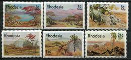 Rhodesien Mi# 194-9 Postfrisch MNH - Flora - Rhodésie (1964-1980)