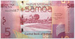 Samoa - 5 Tala - 2008 - PICK 38a - NEUF - Samoa