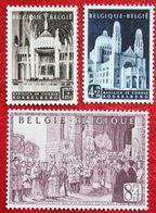 Basilique Du Sacré Coeur, Koelkelberg 1952 OBP 876-878 (Mi 922-924) POSTFRIS/MNH ** BELGIE BELGIUM - Unused Stamps