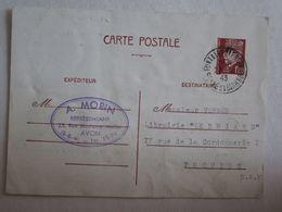 [77] Seine Et Marne > Publicité A Morin Avon Entier Postaux Pétain - Avon