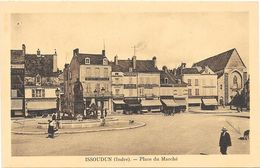 ISSOUDUN : PLACE DU MARCHE - Issoudun