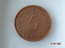 5 CTS MAURICE 1969 - Mauritius