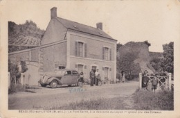 49 - BEAULIEU-SUR-LAYON - BEAU PLAN AVEC VOITURE ANCIENNE - 1ER GRAND CRU DES COTEAUX - Francia
