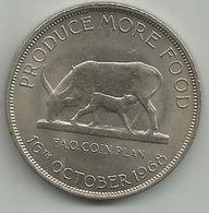 Uganda 5 Shillings 1968. KM#7 FAO - Uganda