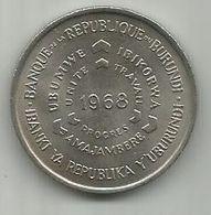 Burundi 10 Francs 1968. FAO KM#17 - Burundi