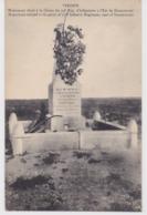 Verdun Monument élevé à La Gloire Du 74e Régiment D'infanterie à L'est De Douaumont Fond Vert écrite - Verdun