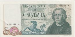 ITALY P. 102a 5000 L 1971 AUNC - [ 2] 1946-… : Repubblica