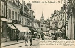 89* AUXERRE Rue Du Temple       MA107,1188 - Auxerre