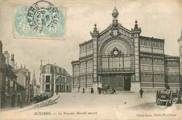 89* AUXERRE Nouveau Marche Couvert        MA107,1233 - Auxerre