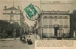89* AUXERRE  Entree – Porte Du Temple      MA107,1249 - Auxerre