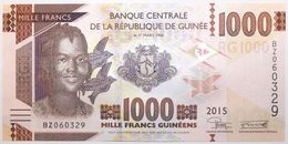 Guinée - 1000 Francs Guinéens - 2015 - PICK 48a - NEUF - Guinée